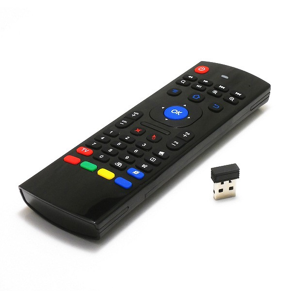 MX3 Wireless keyboard Air Mouse Remote For Android Smart TV BOX Mini PC 2